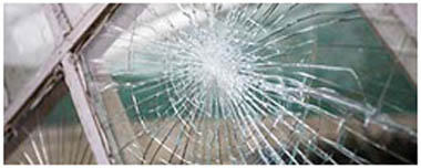 Waterlooville Smashed Glass